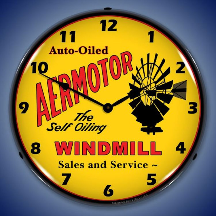 Airplane Theme Wall Clocks, LED Lighted: Gas/Oil, Parts, Races, Art