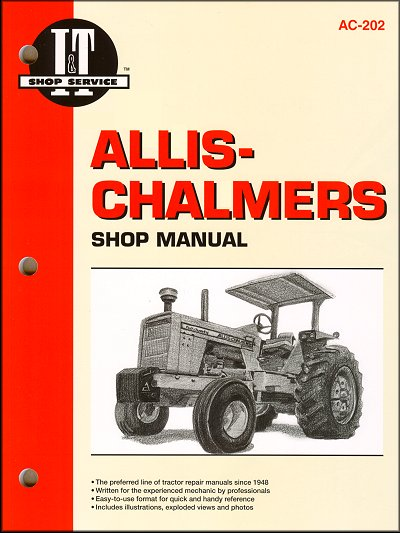 allis chalmers repair manual d19 21 180 185 190 200 7000 rh themotorbookstore com Allis Chalmers Model C Wiring Garden Tractor Ignition Wiring Diagrams