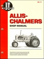 Allis-Chalmers Repair Manual Models B, C, CA, G, RC, WC, WD, WD45, WD45 Diesel, WF