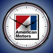 American Motors Wall Clock, LED Lighted