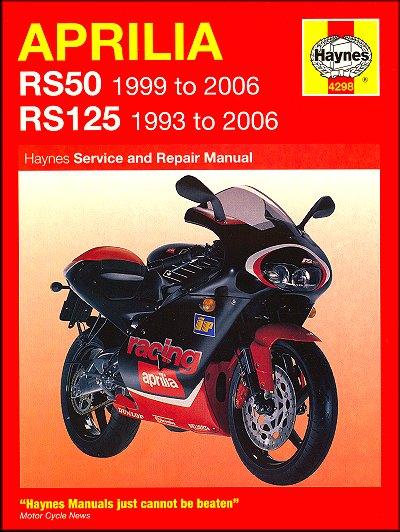 aprilia rs 50 manual download