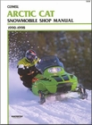 Arctic Cat Snowmobile Repair Manual 1990-1998
