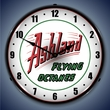 Ashland Gas Wall Clock, LED Lighted: Gas / Oil Theme