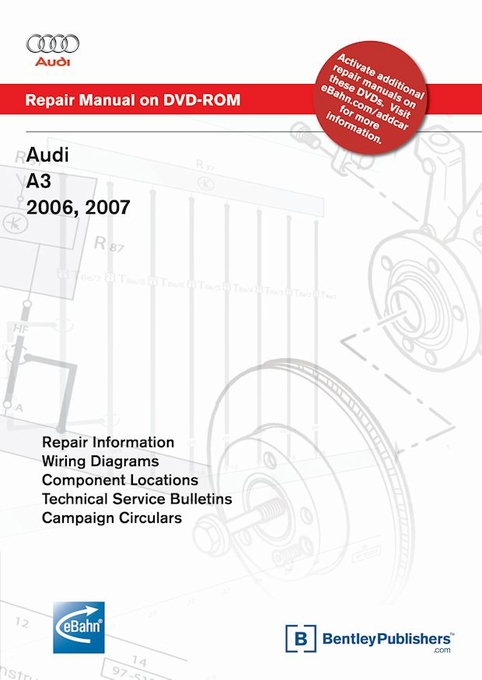 bentley repair manual dvd rom audi a3 2006 2009 rh themotorbookstore com audi a3 repair manual pdf repair manual audi a3 download