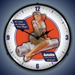Autolite Avaition Wall Clock, LED Lighted: Airplane Theme