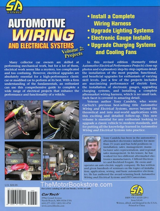 Automotive Wiring & Electrical Systems Volume 2: Projects