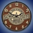 B&O Railroad 3 Wall Clock, LED Lighted