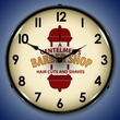 Barber Shop 2 Wall Clock, LED Lighted: Sports