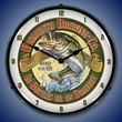 Bigmouth Brewing Wall Clock, Lighted