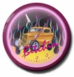 Bitchin Hot Rod Neon Clock, High Quality, 20 Inch