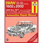 BMW 1500, 1502, 1600, 1602, 2000, 2002 Repair Manual 1959-1977