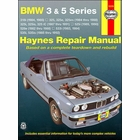 BMW 3 & 5 Series Repair Manual 1982-1992