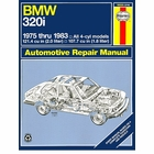 BMW 320i Repair Manual 1975-1983