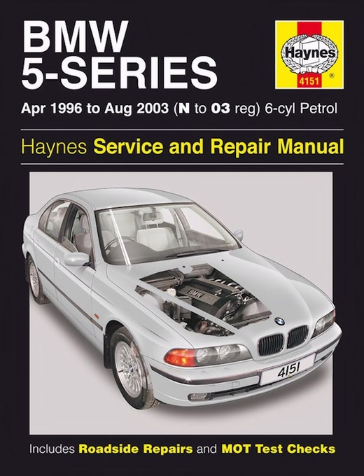 bmw 5 series repair manual 1996 2003 haynes 4151. Black Bedroom Furniture Sets. Home Design Ideas