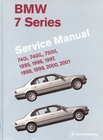 1995-2001 BMW 7 Series (E38) Repair Manual 740i, 740iL, 750iL