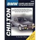 BMW Coupes, Sedans Repair Manual 1970-1988