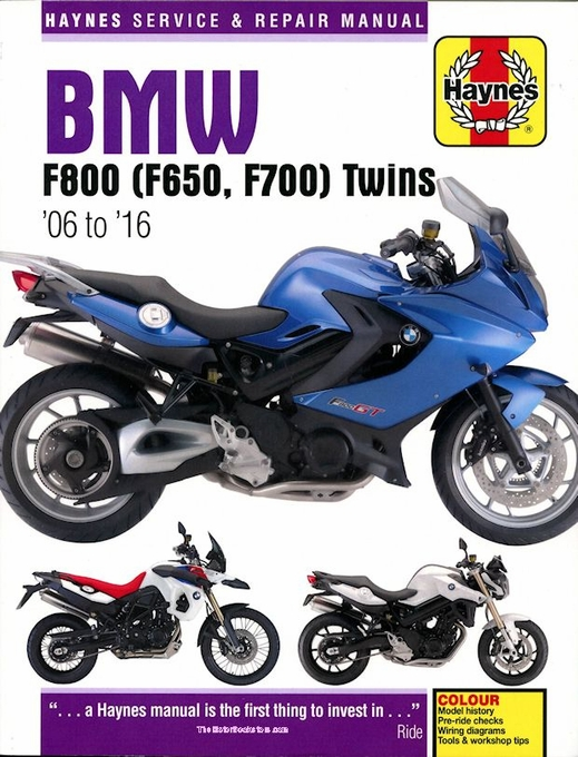 bmw f800 f700 f650 twins repair manual 2006 2016 haynes rh themotorbookstore com WDS BMW Wiring Diagrams Online BMW E36 Wiring Diagrams