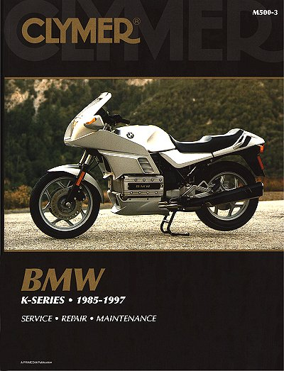 bmw k series k75 k100 k1100 k1 repair manual 1985 1997 clymer rh themotorbookstore com bmw k75 workshop manual pdf bmw k75 service manual