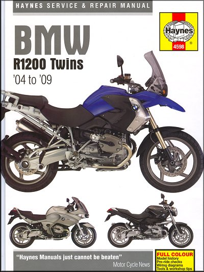 bmw r1200gs st rt r1200r s repair manual by haynes 2004 2009 rh themotorbookstore com bmw r1200rt workshop manual bmw r1200r workshop manual pdf
