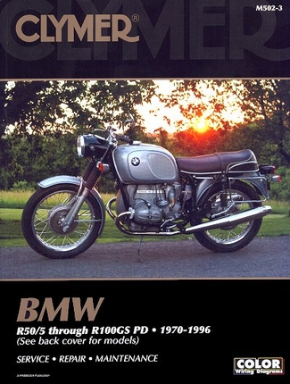 1970 1996 bmw r50 r60 r75 r80 r90 r100 r100gs repair. Black Bedroom Furniture Sets. Home Design Ideas