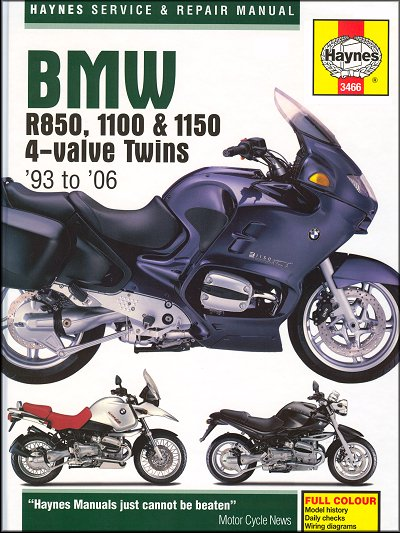 Wondrous Bmw R850 R1100 R1150 R850R R1100Gs R1100Rs Manual 1993 2006 Wiring Digital Resources Minagakbiperorg