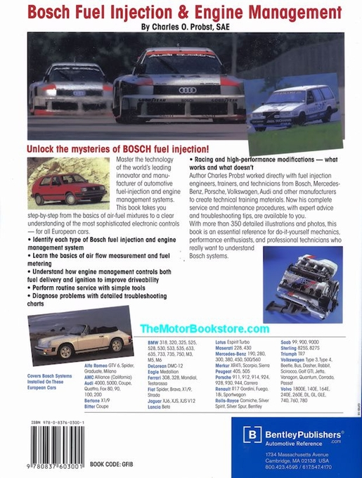 Bosch Fuel Injection and Engine Management