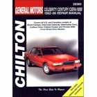Buick Century, Chevy Celebrity, Olds Ciera, Cutlass, Cruiser, Pontiac 6000 Repair Manual 1982-1996