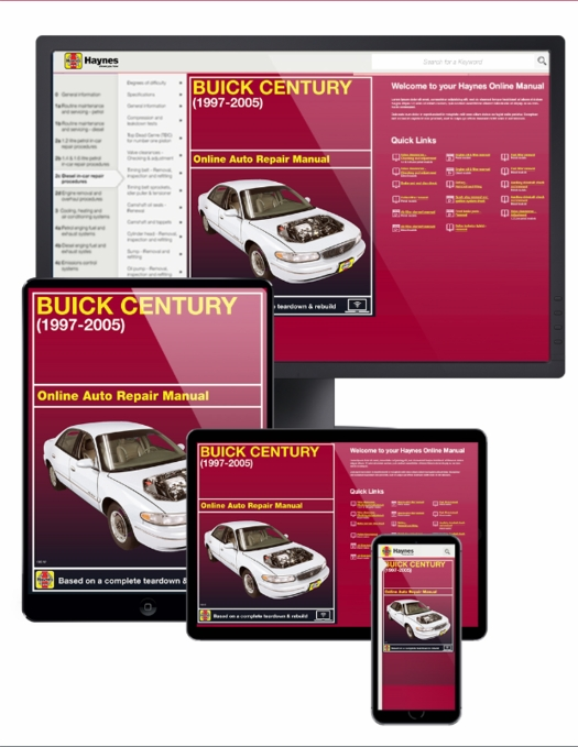 buick century online service manual 1997 2005 rh themotorbookstore com Product Factory Service Manuals Product Auto Repair Manuals