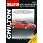 Buick Century, Regal; Chevy Lumina, Monte Carlo; Olds Cutlass Supreme, Intrigue; Pontiac Grand Prix Repair Manual 1997-2000