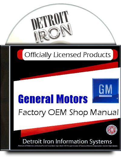 Buick Factory Service Manuals 1932-1973 on CD-ROM