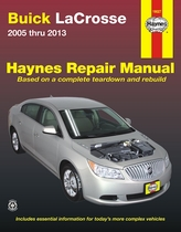Buick LaCrosse Repair Manual: 2005-2013