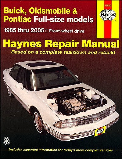 workshop manual buick park avenue 1988 browse manual guides u2022 rh trufflefries co 1987 Buick Regal 1990 Buick Regal