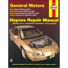 Buick Regal 1988-2004; Chevy Lumina 1990-1994; Olds Cutlass Supreme 1988-1997; Pontiac Grand Prix Repair Manual 1988-2007