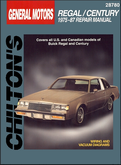 buick regal century repair manual 1975 1987 chilton 28780 rh themotorbookstore com 2013 buick regal owner's manual 2014 buick regal repair manual online