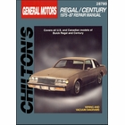 Buick Regal, Century Repair Manual 1975-1987