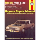 Buick Regal, Century, Wagons Repair Manual 1974-1987