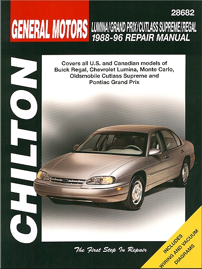 buick regal pontiac grand prix repair manual 1988 1996 chilton rh themotorbookstore com 1990 Buick Regal 1990 Buick Regal