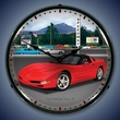 C5 Corvette Raceway LED Lighted Clock
