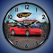 C6 Corvette LED Lighted Clock - Convertible Diner