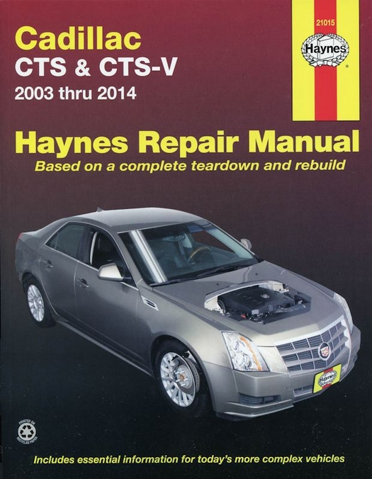 cadillac cts cts v repair manual 2003 2014 rh themotorbookstore com 2014 CTS -V 2006 cadillac cts repair manual pdf