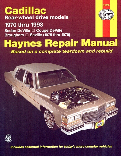 sedan deville coupe brougham seville repair manual 1970. Black Bedroom Furniture Sets. Home Design Ideas