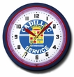 Cadillac Service Neon Clock, High Quality, 20 Inch