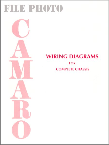 1967 1976 camaro wiring diagrams for complete chassis rh themotorbookstore com