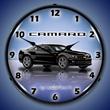 Camaro G5 Black Wall Clock, Lighted