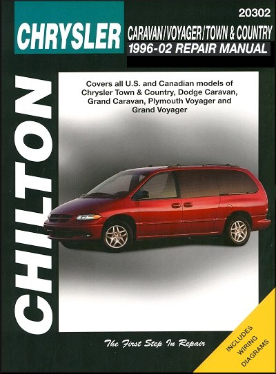 caravan voyager town country 1996 2002 repair manual chilton rh themotorbookstore com 2014 town and country repair manual chrysler town and country repair manual pdf