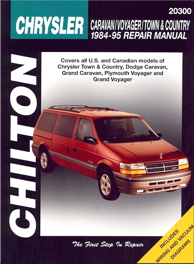 caravan voyager town country repair manual 1984 1995 chilton rh themotorbookstore com 1997 Plymouth Voyager Problems 1993 Plymouth Voyager Problems