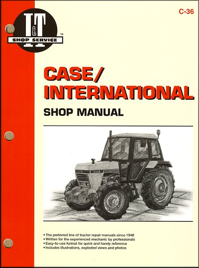 Case International Repair Manual  1190  1290  1390  1490  1690