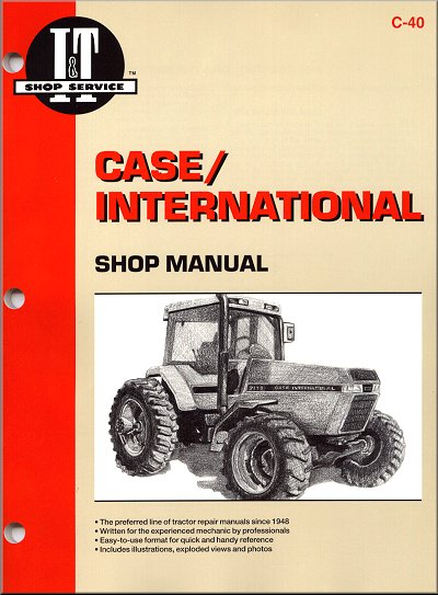 case ih tractor wiring diagrams repair manual Kubota Tractor Wiring Diagrams