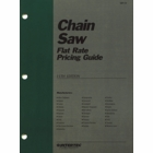 Chain Saw Flat Rate Pricing Guide 11th Edition