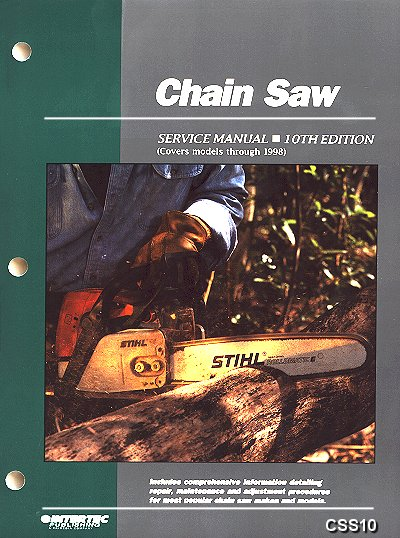 Chain Saw Service Manual - Models thru 1998